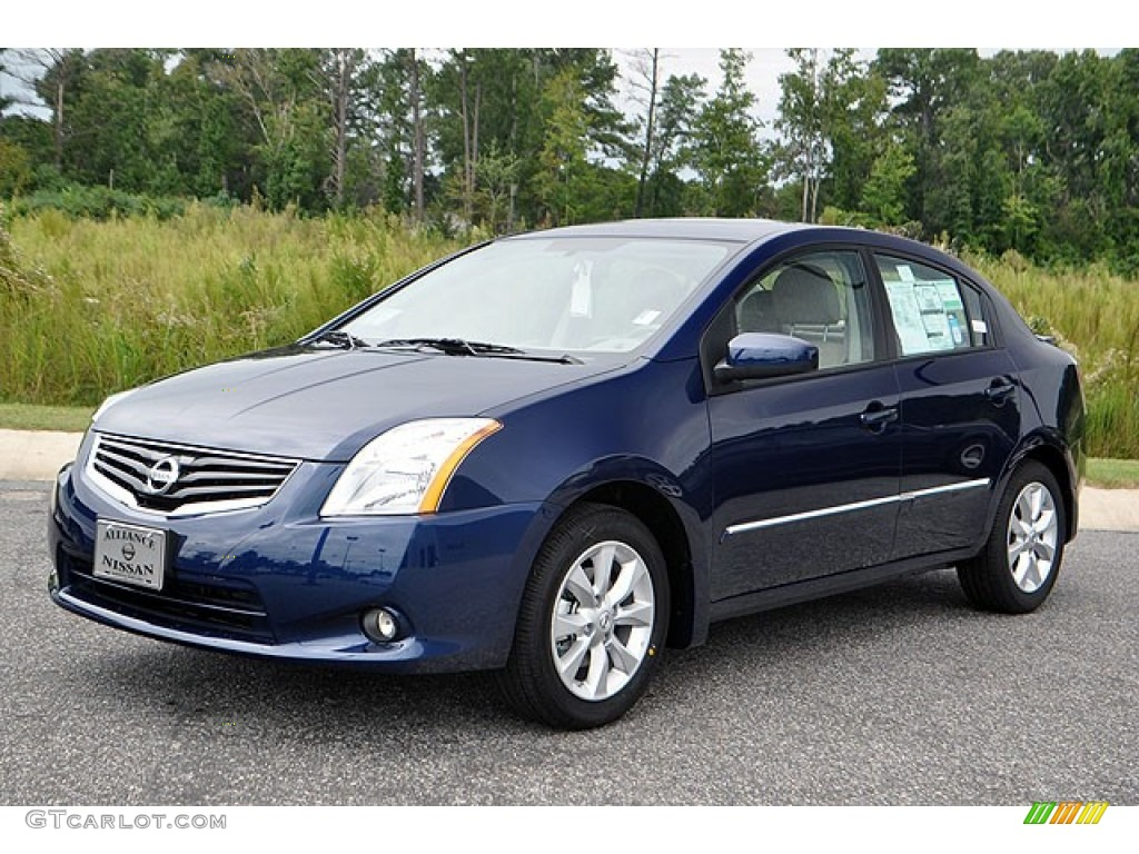 2012 blue onyx nissan sentra 2 0 sl 71063468 gtcarlot. Black Bedroom Furniture Sets. Home Design Ideas