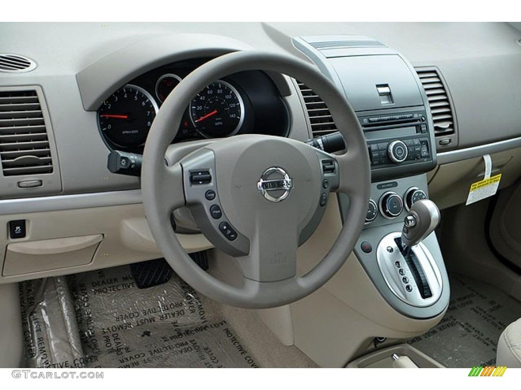 beige interior 2012 nissan sentra 2 0 s photo 71064328. Black Bedroom Furniture Sets. Home Design Ideas
