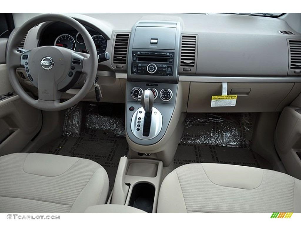 2012 Nissan Sentra 2 0 S Beige Dashboard Photo 71064361