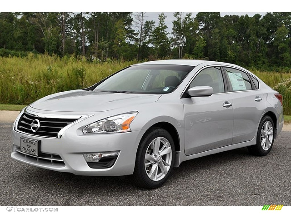2013 Brilliant Silver Nissan Altima 2 5 Sv 71063466 Photo