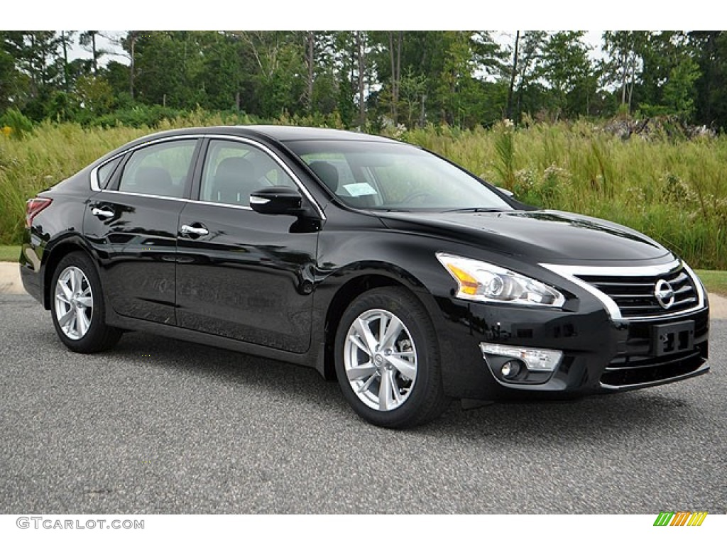 Super Black 2013 Nissan Altima 2 5 Sl Exterior Photo