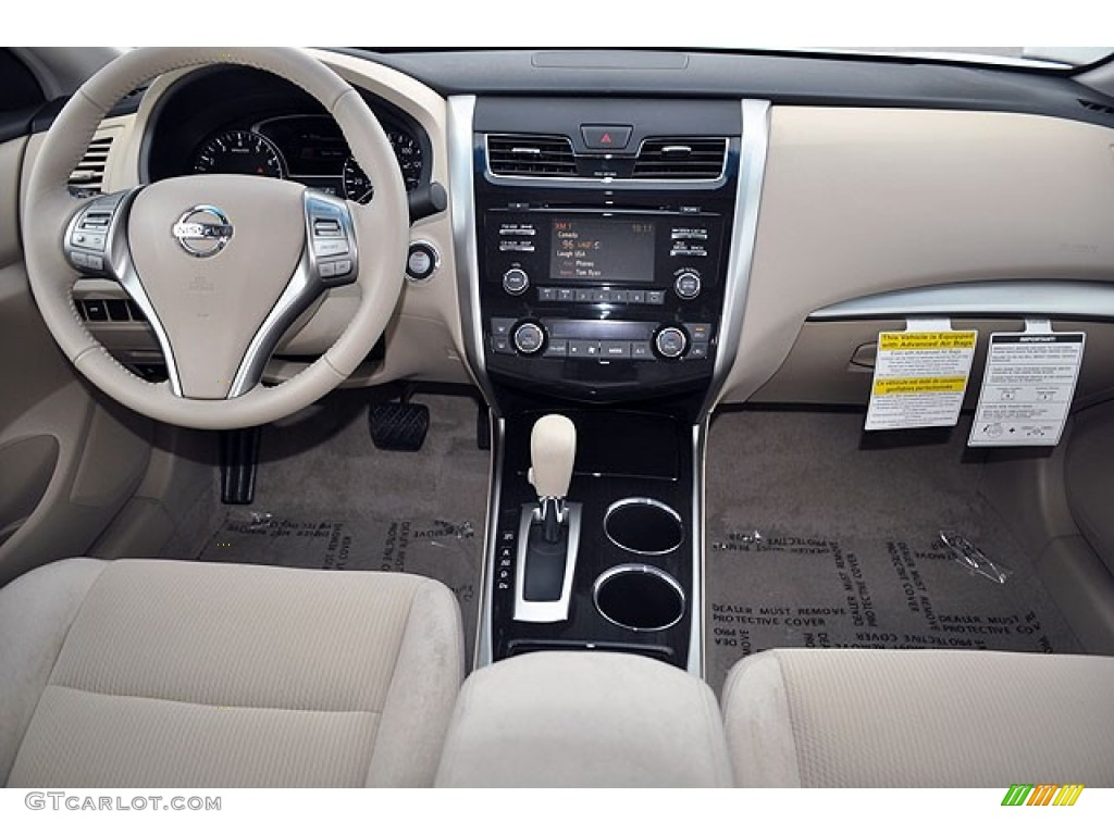 2013 Nissan Altima 2 5 Sv Beige Dashboard Photo 71065978