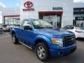 Blue Flame Metallic 2010 Ford F150 STX Regular Cab 4x4