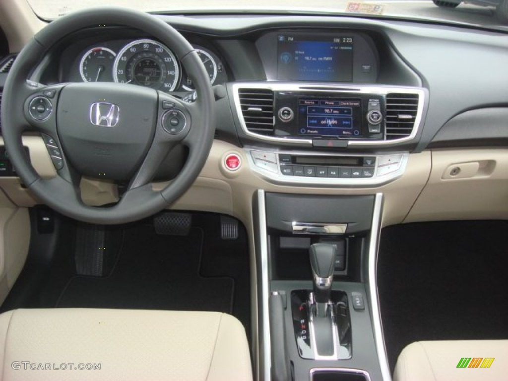 2013 Honda Accord Ex L Sedan Ivory Dashboard Photo