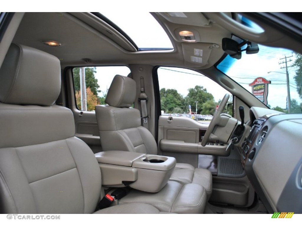 Tan Interior 2007 Ford F150 Lariat SuperCrew 4x4 Photo ...