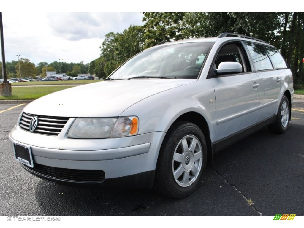All Types passat 2000 : 2000 Satin Silver Metallic Volkswagen Passat GLS V6 Wagon ...