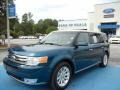2011 Mediterranean Blue Metallic Ford Flex SEL #71062662