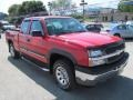 2005 Victory Red Chevrolet Silverado 1500 LS Extended Cab 4x4  photo #4