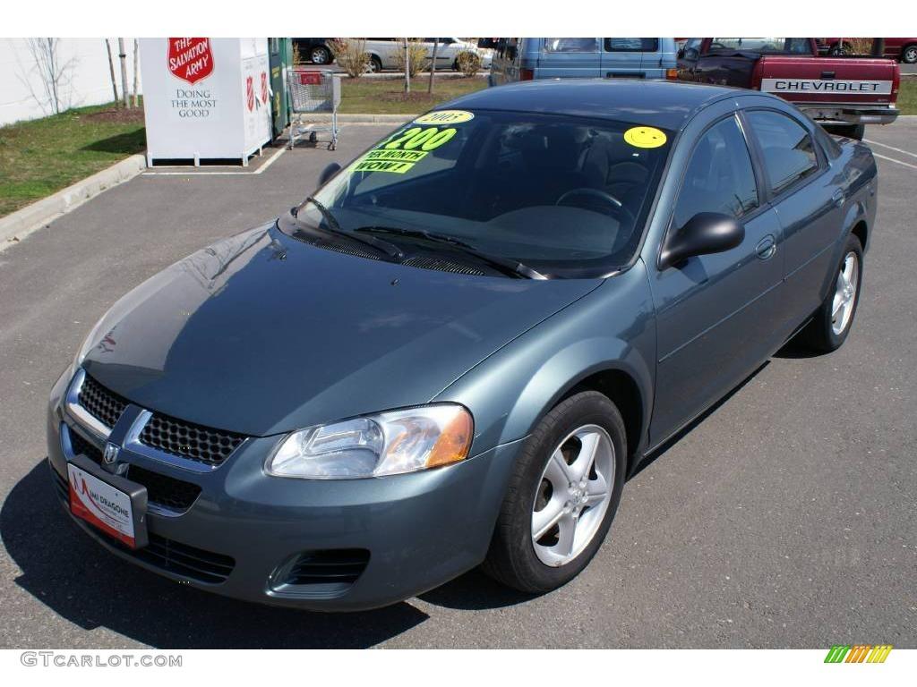 2005 Stratus SXT Sedan - Magnesium Green Pearl / Dark Slate Gray photo ...