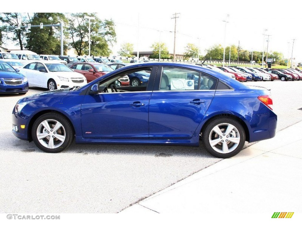 Chevrolet Cruze Trunk Blue Topaz Metallic 2013 Chevrolet Cruze LT/RS Exterior ...