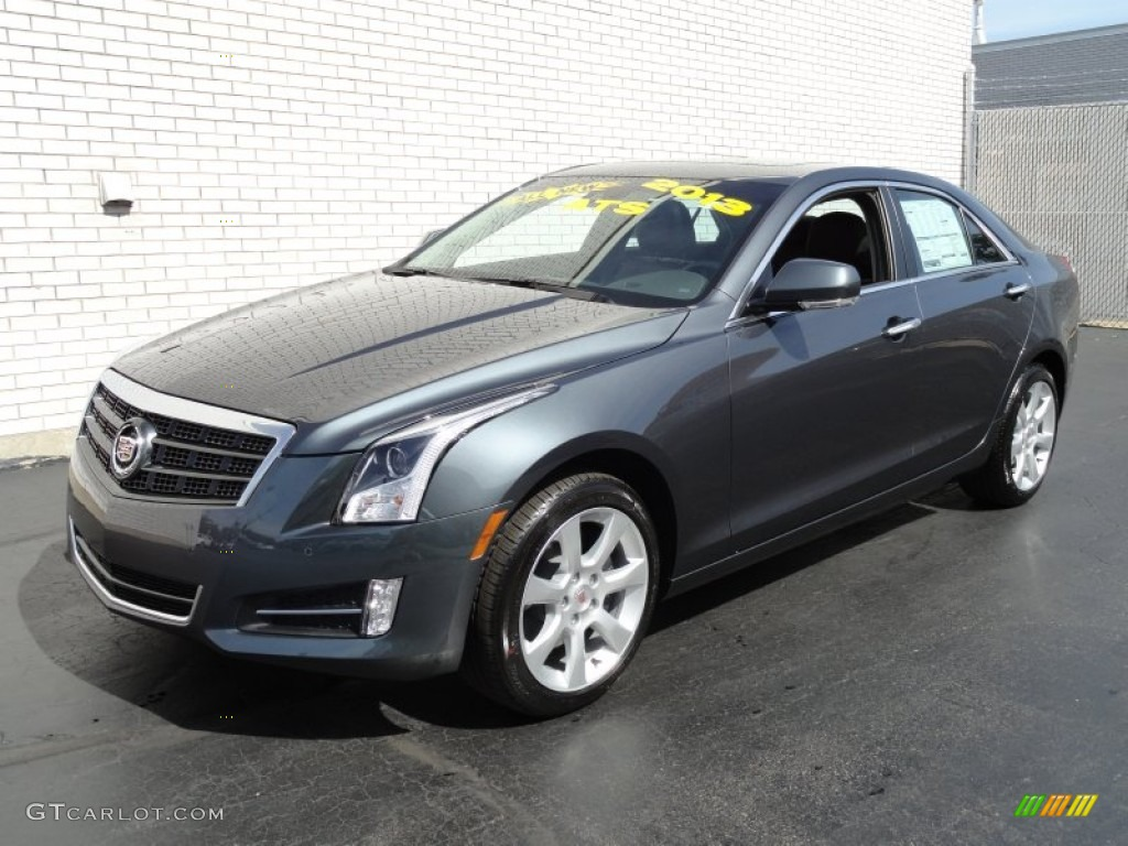 2013 Thunder Gray Chromaflair Cadillac Ats 3 6l