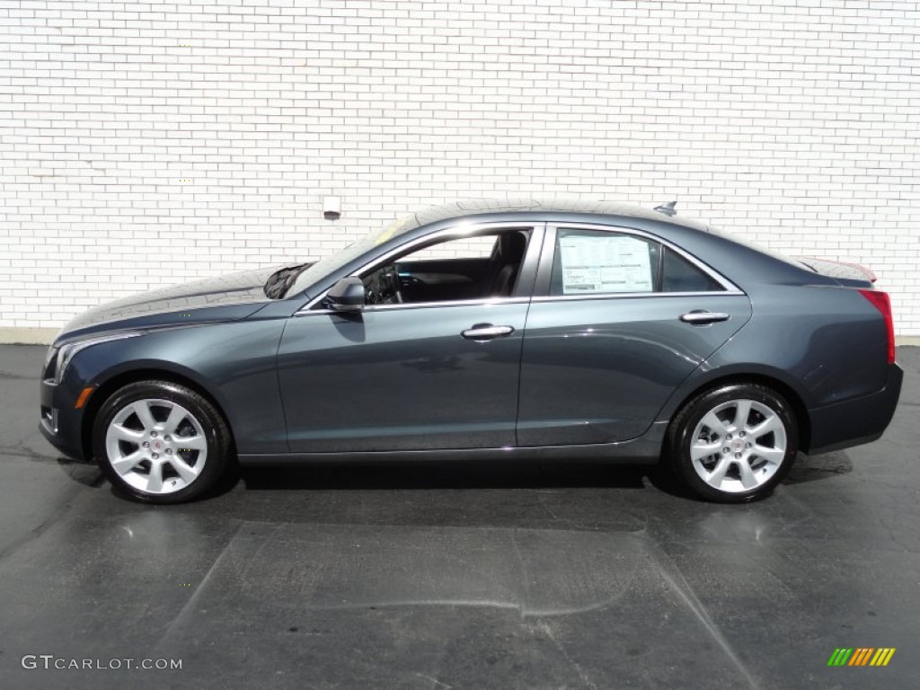 2013 thunder gray chromaflair cadillac ats 3 6l performance awd 71062643 photo 7 gtcarlot. Black Bedroom Furniture Sets. Home Design Ideas