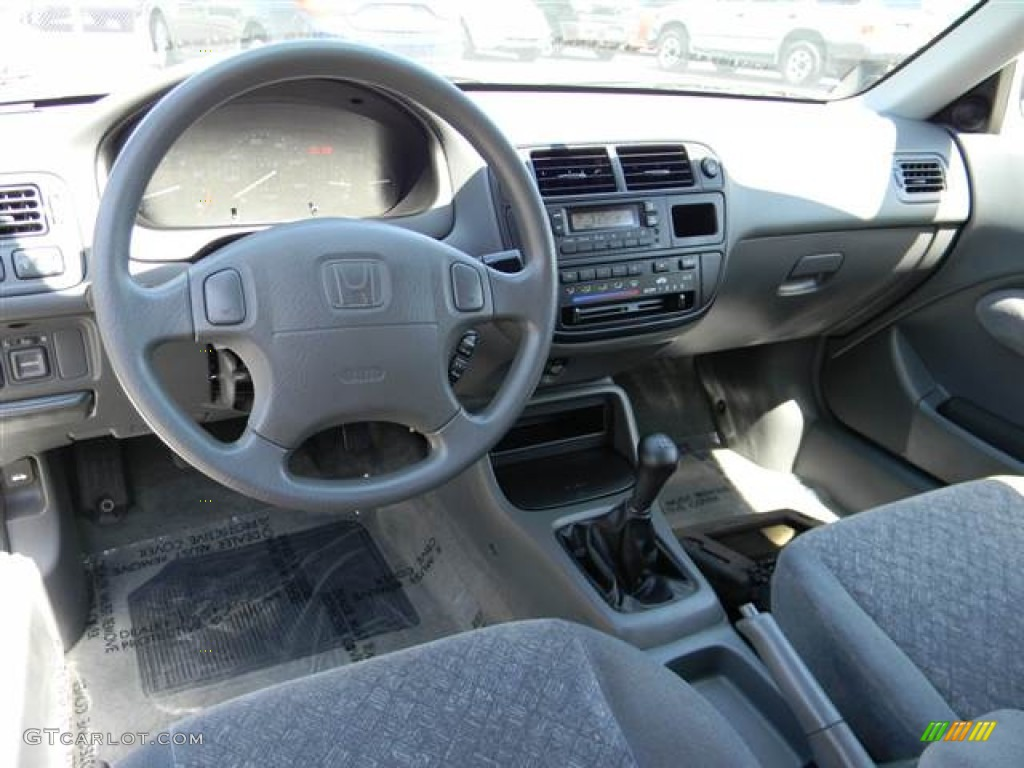 Captivating Gray Interior 1998 Honda Civic EX Coupe Photo #71084044 Great Pictures