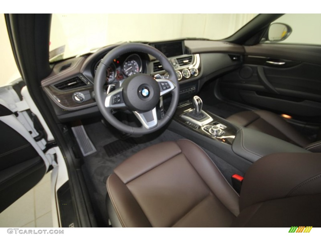 Canyon Brown Interior 2013 Bmw Z4 Sdrive 28i Photo
