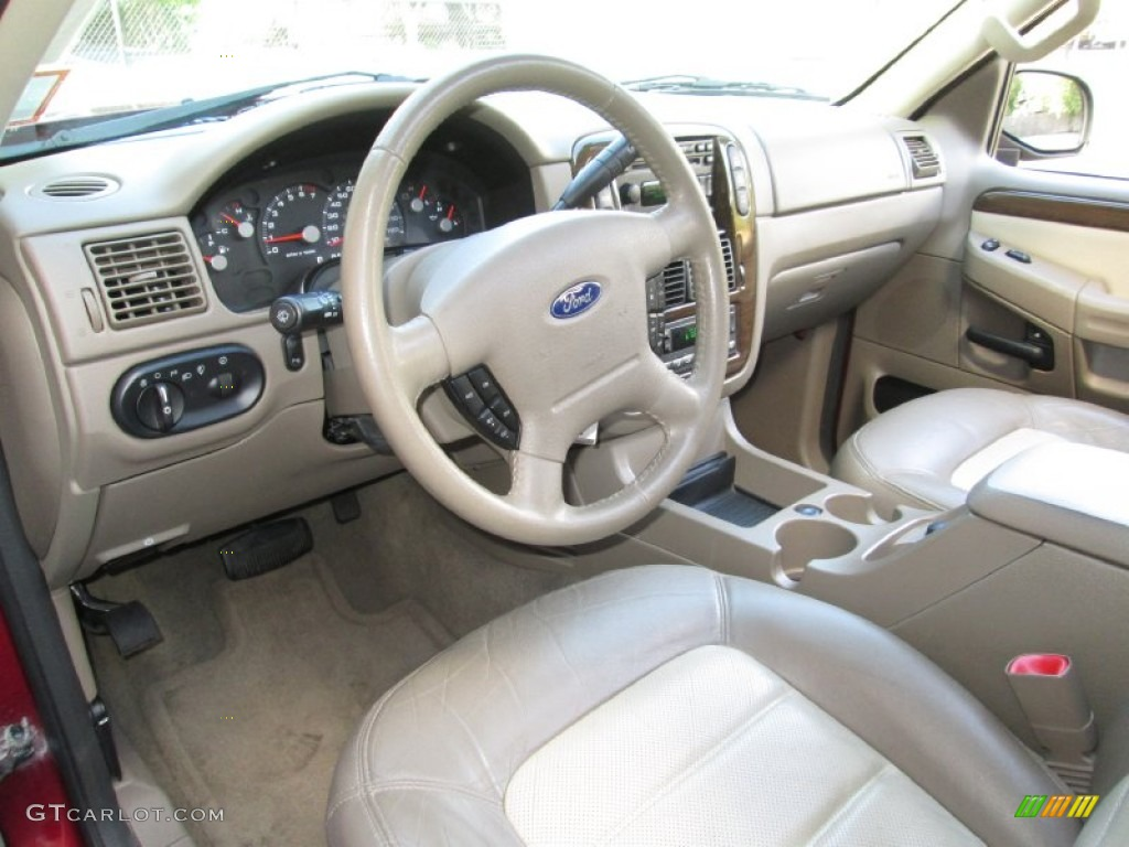 2002 Ford Explorer Eddie Bauer >> Medium Parchment Interior 2005 Ford Explorer Eddie Bauer ...