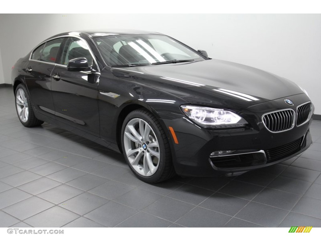 2013 black sapphire metallic bmw 6 series 640i gran coupe. Black Bedroom Furniture Sets. Home Design Ideas