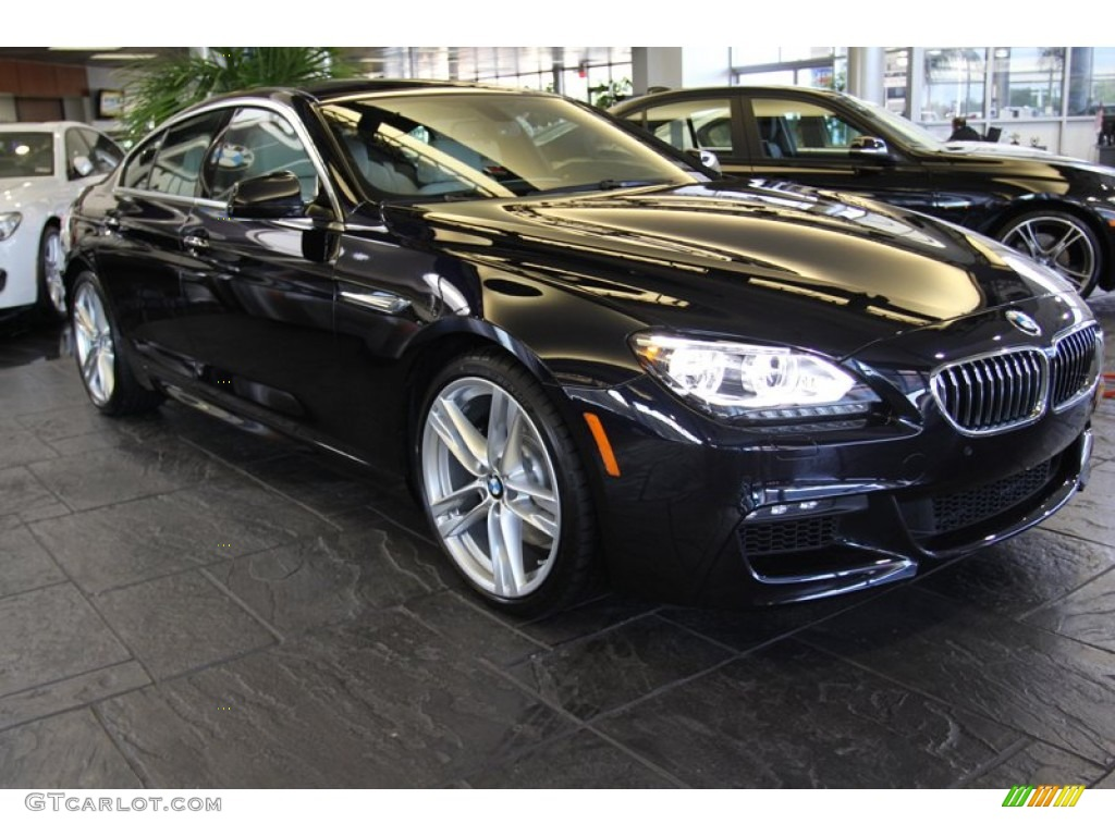 2013 Carbon Black Metallic Bmw 6 Series 640i Gran Coupe