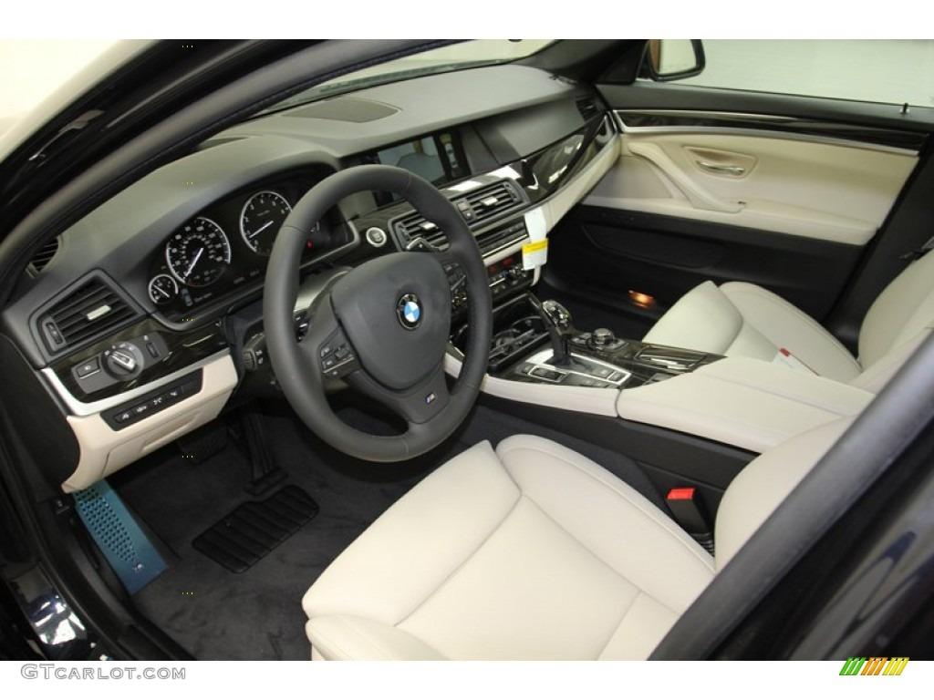 oyster black interior 2013 bmw 5 series 550i sedan photo 71093203