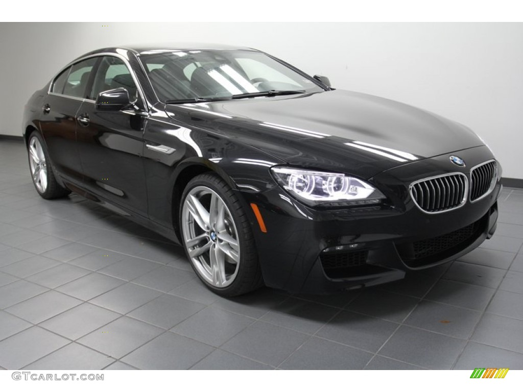 black sapphire metallic 2013 bmw 6 series 650i gran coupe. Black Bedroom Furniture Sets. Home Design Ideas