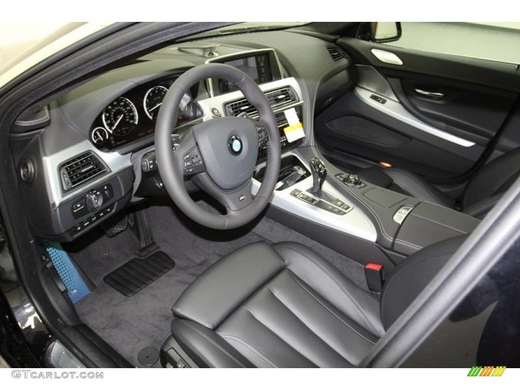 Black Interior 2013 Bmw 6 Series 650i Gran Coupe Photo 71093458
