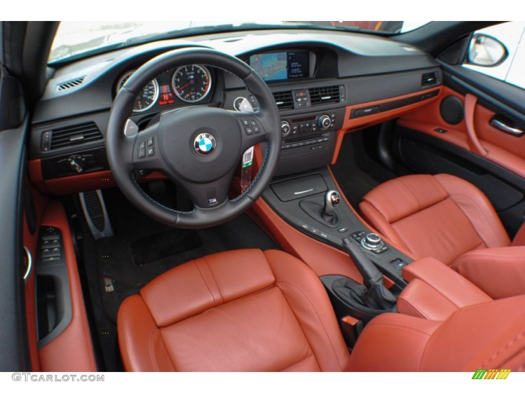 Fox Red Novillo Leather Interior 2011 Bmw M3 Convertible Photo 71097967