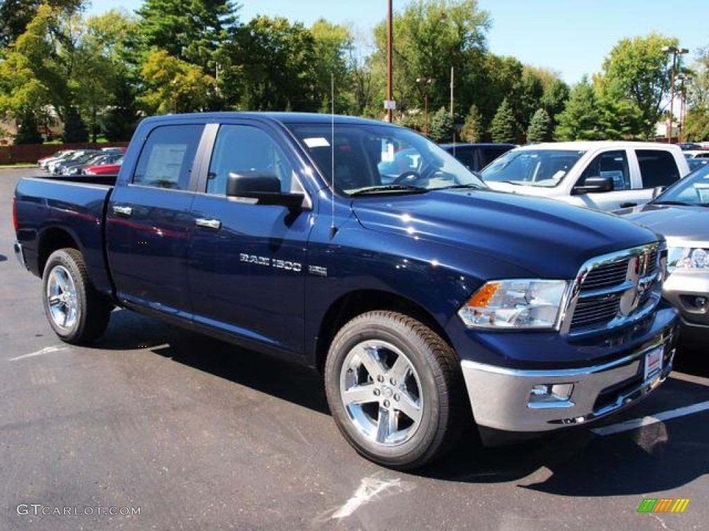 2012 true blue pearl dodge ram 1500 big horn crew cab 4x4 71062491 photo 2. Black Bedroom Furniture Sets. Home Design Ideas