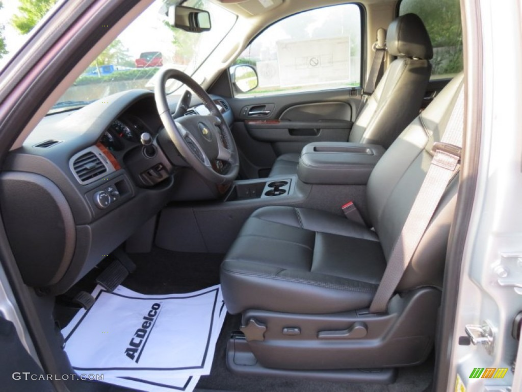 chevrolet avalanche interior ebony - photo #2