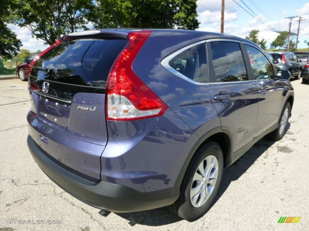 Twilight Blue Metallic 2013 Honda Cr V Ex Awd Exterior Photo 71110061