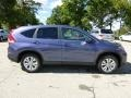 2013 Twilight Blue Metallic Honda CR-V EX AWD  photo #5