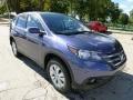2013 Twilight Blue Metallic Honda CR-V EX AWD  photo #6
