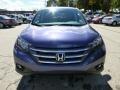 2013 Twilight Blue Metallic Honda CR-V EX AWD  photo #7