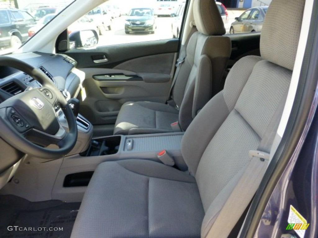 Gray interior 2013 honda cr v ex awd photo 71110121 for Honda cr v 2013 interior