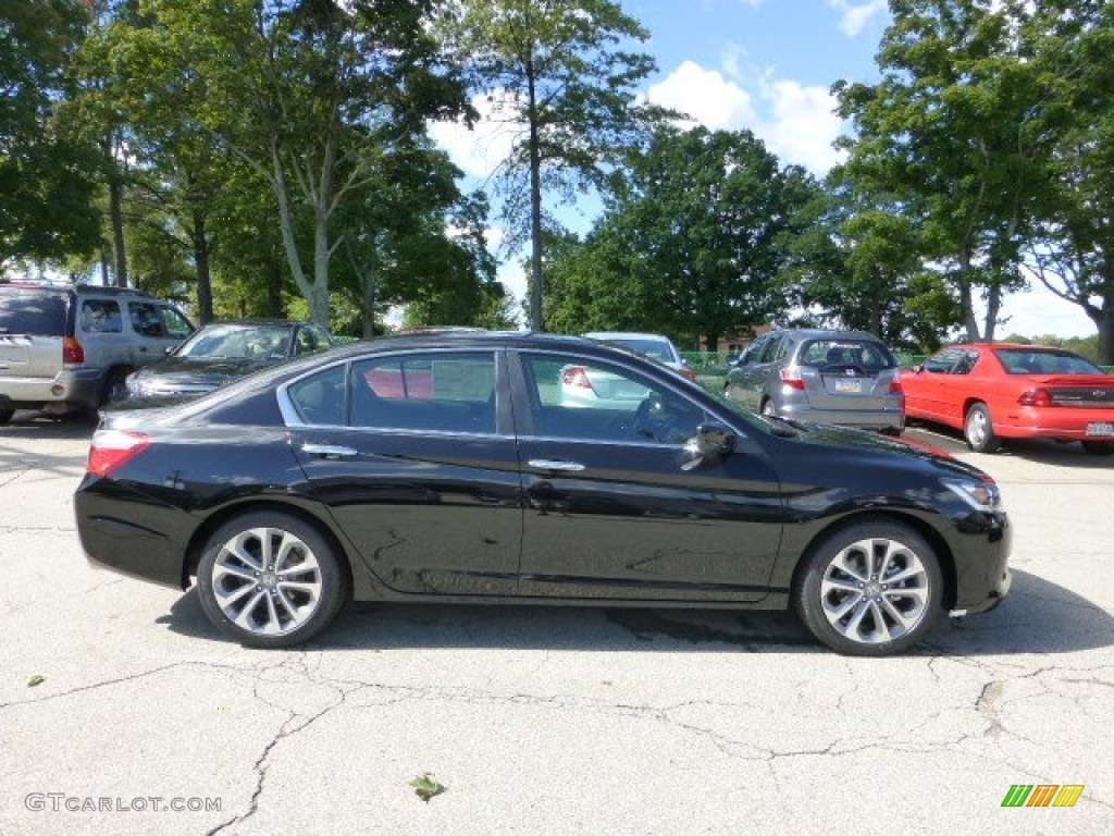 Crystal Black Pearl 2013 Honda Accord Sport Sedan Exterior Photo 71110259 Gtcarlot Com