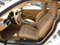 Sand Beige Interior Photo for 2012 Porsche 911 #71110604