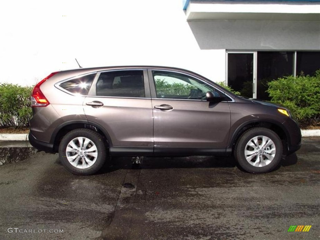 Urban Titanium Metallic 2012 Honda CR-V EX Exterior Photo #71114249
