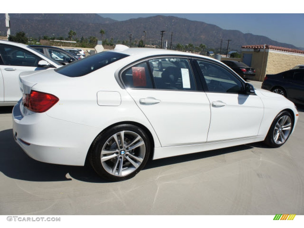 alpine white 2013 bmw 3 series 328i sedan exterior photo. Black Bedroom Furniture Sets. Home Design Ideas