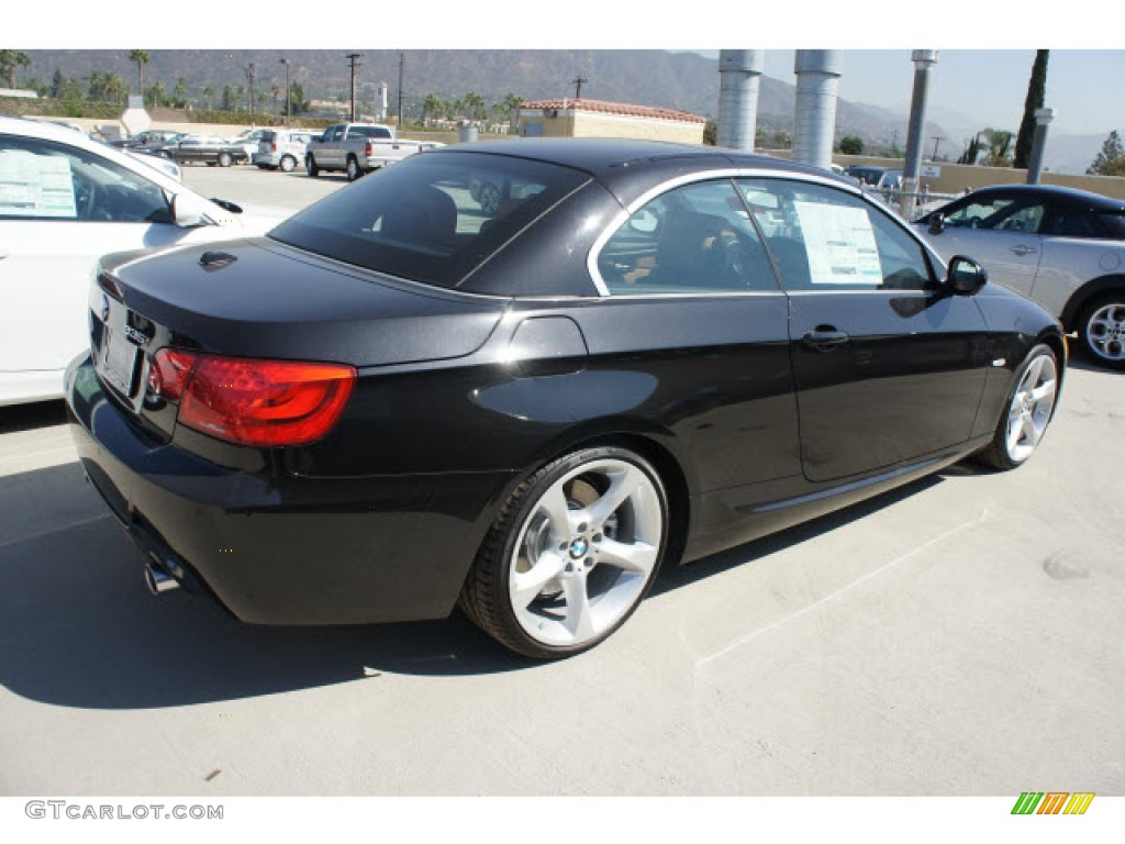 Black Sapphire Metallic 2013 Bmw 3 Series 335i Convertible