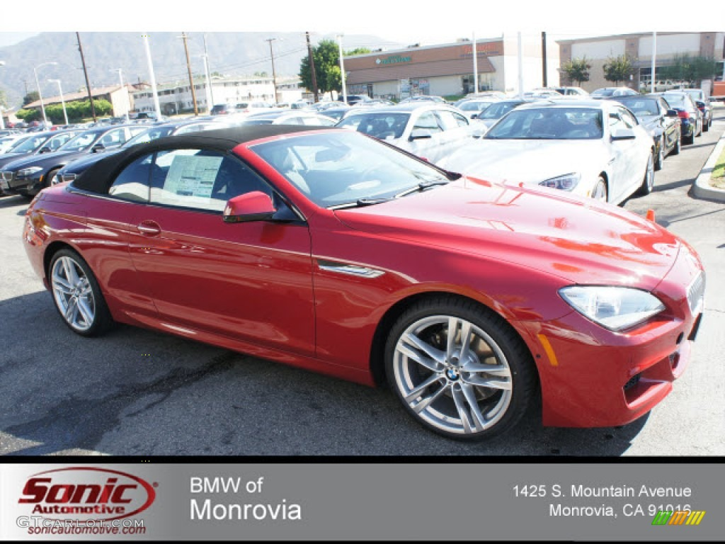 Imola Red BMW Series I Convertible GTCarLot - 2013 bmw 650i convertible for sale