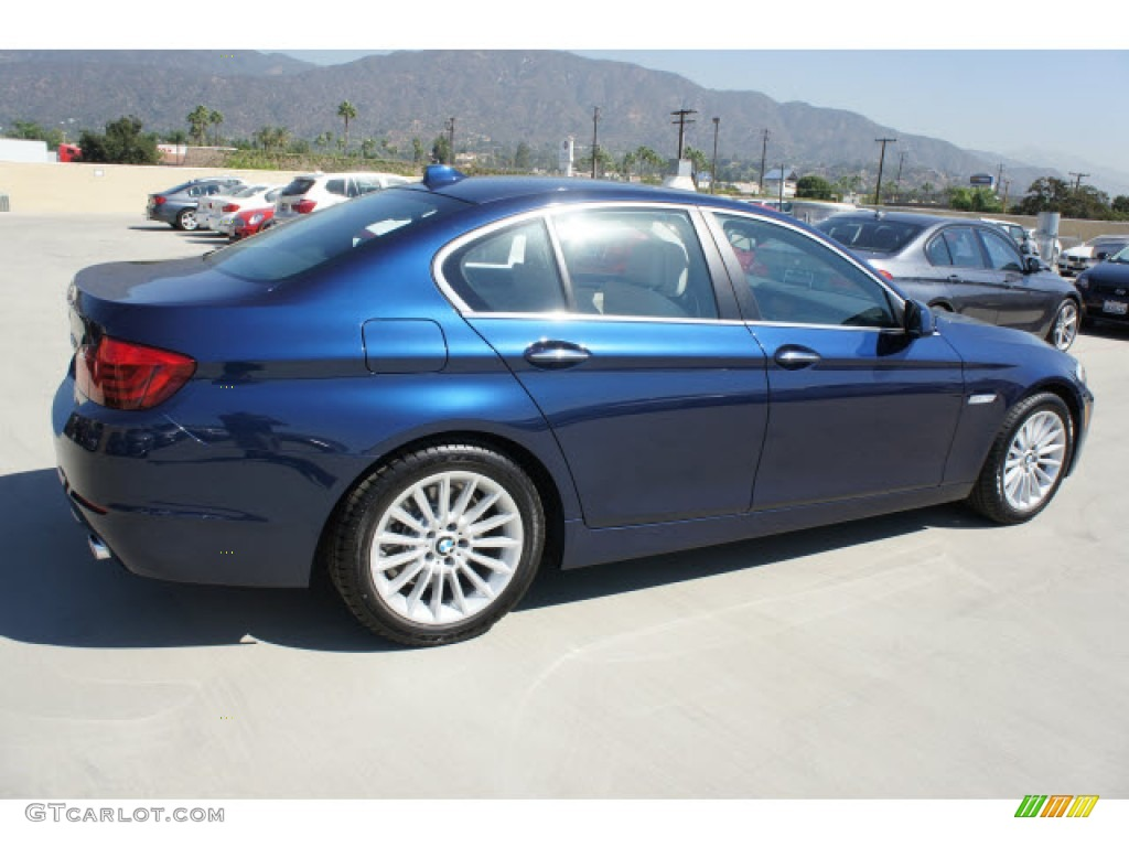 Bmw Exterior: Deep Sea Blue Metallic 2013 BMW 5 Series 535i Sedan