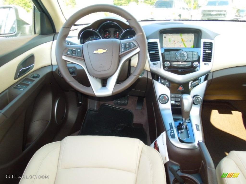 2013 Chevrolet Cruze LTZ/RS Cocoa/Light Neutral Dashboard ...
