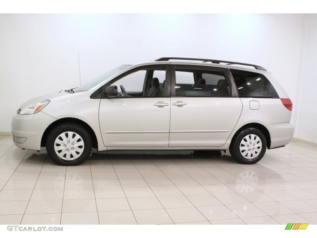 Silver Shadow Pearl 2004 Toyota Sienna Le Exterior Photo 71127944