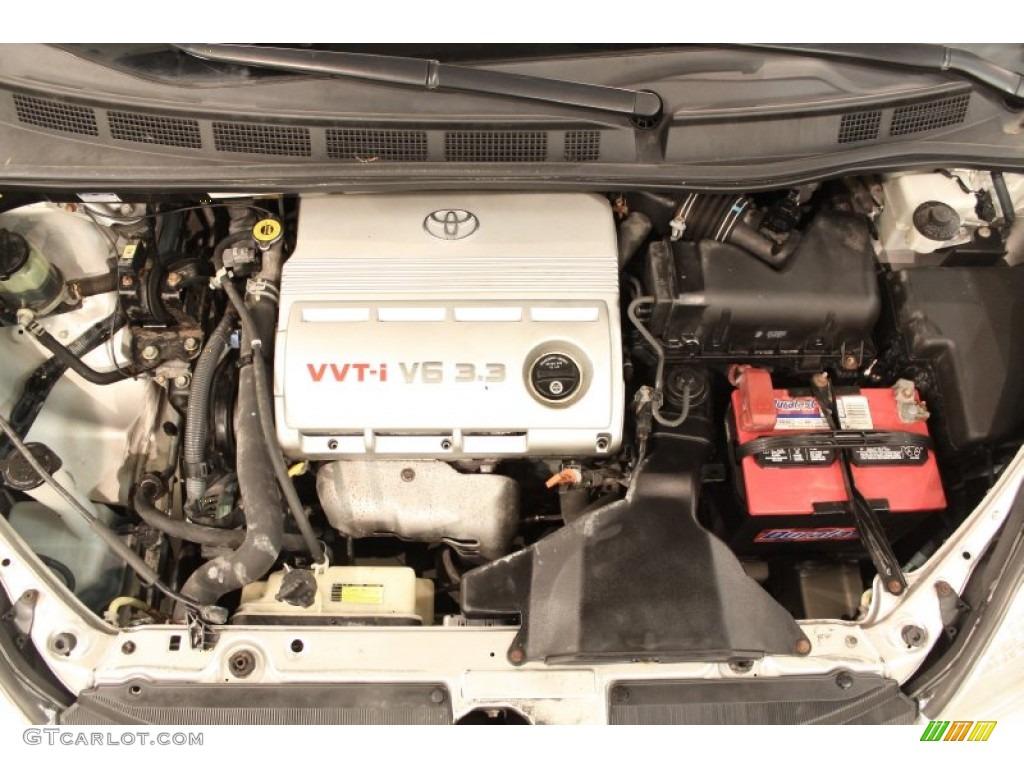 2004 Toyota Sienna LE 3.3L DOHC 24V VVT-i V6 Engine Photo ...