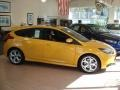 2013 Tangerine Scream Tri-Coat Ford Focus ST Hatchback #71062745
