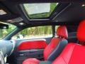 Radar Red/Dark Slate Gray Sunroof Photo for 2013 Dodge Challenger #71144349