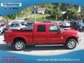 2012 Vermillion Red Ford F250 Super Duty Lariat Crew Cab 4x4  photo #5