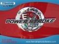 2012 Vermillion Red Ford F250 Super Duty Lariat Crew Cab 4x4  photo #13