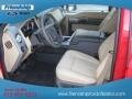 2012 Vermillion Red Ford F250 Super Duty Lariat Crew Cab 4x4  photo #14