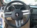 2007 Vista Blue Metallic Ford Mustang V6 Premium Convertible  photo #17