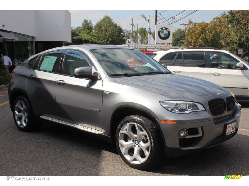 Space Gray Metallic 2013 Bmw X6 Xdrive50i Exterior Photo