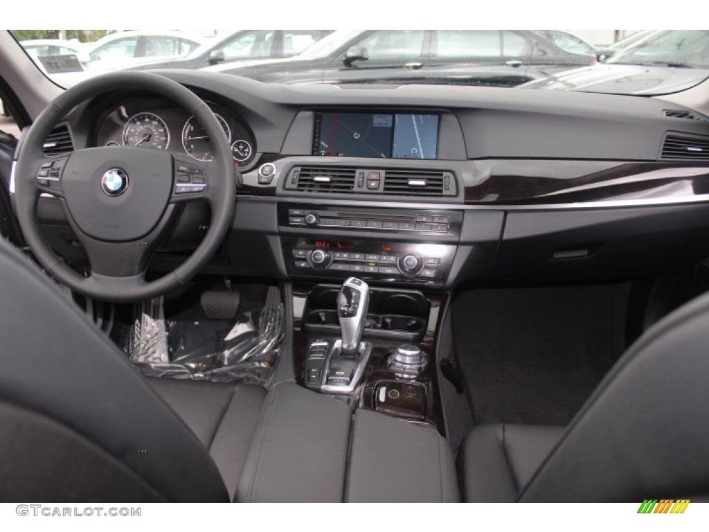 2012 bmw 5 series 528i xdrive sedan black dashboard photo 71154742
